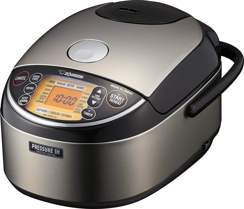 Zojirushi NP-NWC10XB Pressure Induction Heating Rice Cooker