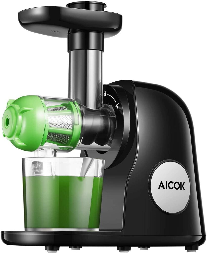 Aicok Slow Masticating Juicer Review