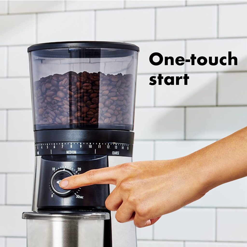 Oxo brew Coffee Grinder Control