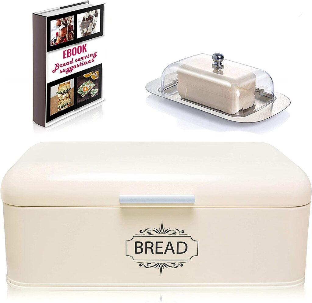 AllGreen Vintage Bread Box